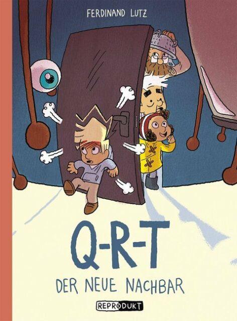 Ferdinand Lutz, Q R T, Q-R-T, Reprodukt Verlag, Conic, Graphik Novel