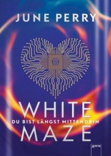 june perry, white maze