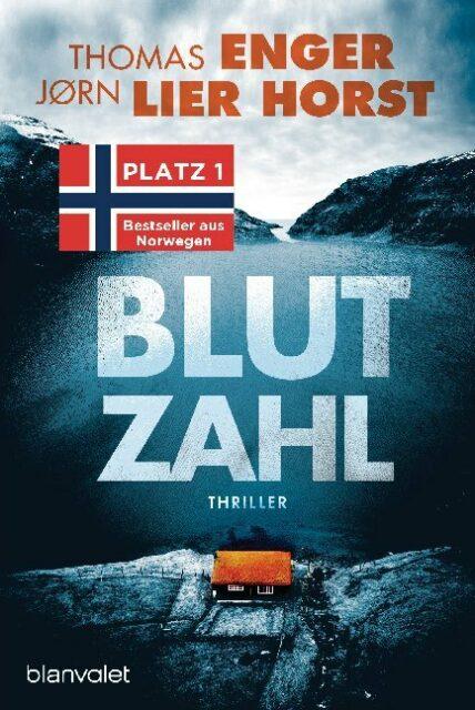 Thomas Enger und John Lier Horst, Blutzahl, Blanvalet Verlag, Random House, Krimi, Thriller