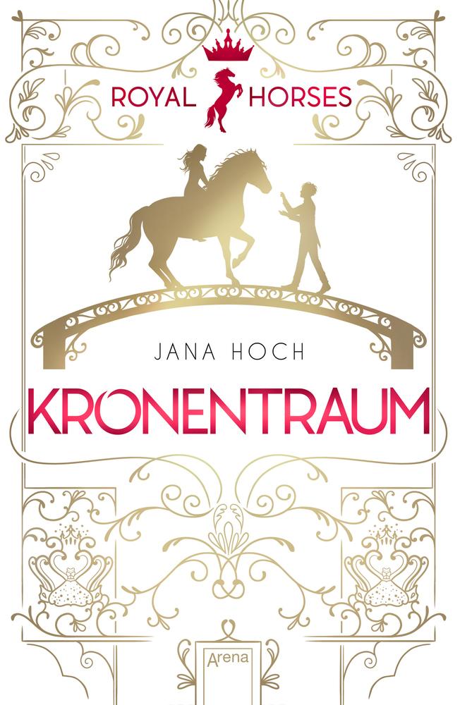 jana hoch, kronentraum, arena, pferd liebe
