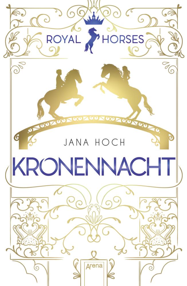 jana hoch, kronennacht, arena, pferd liebe