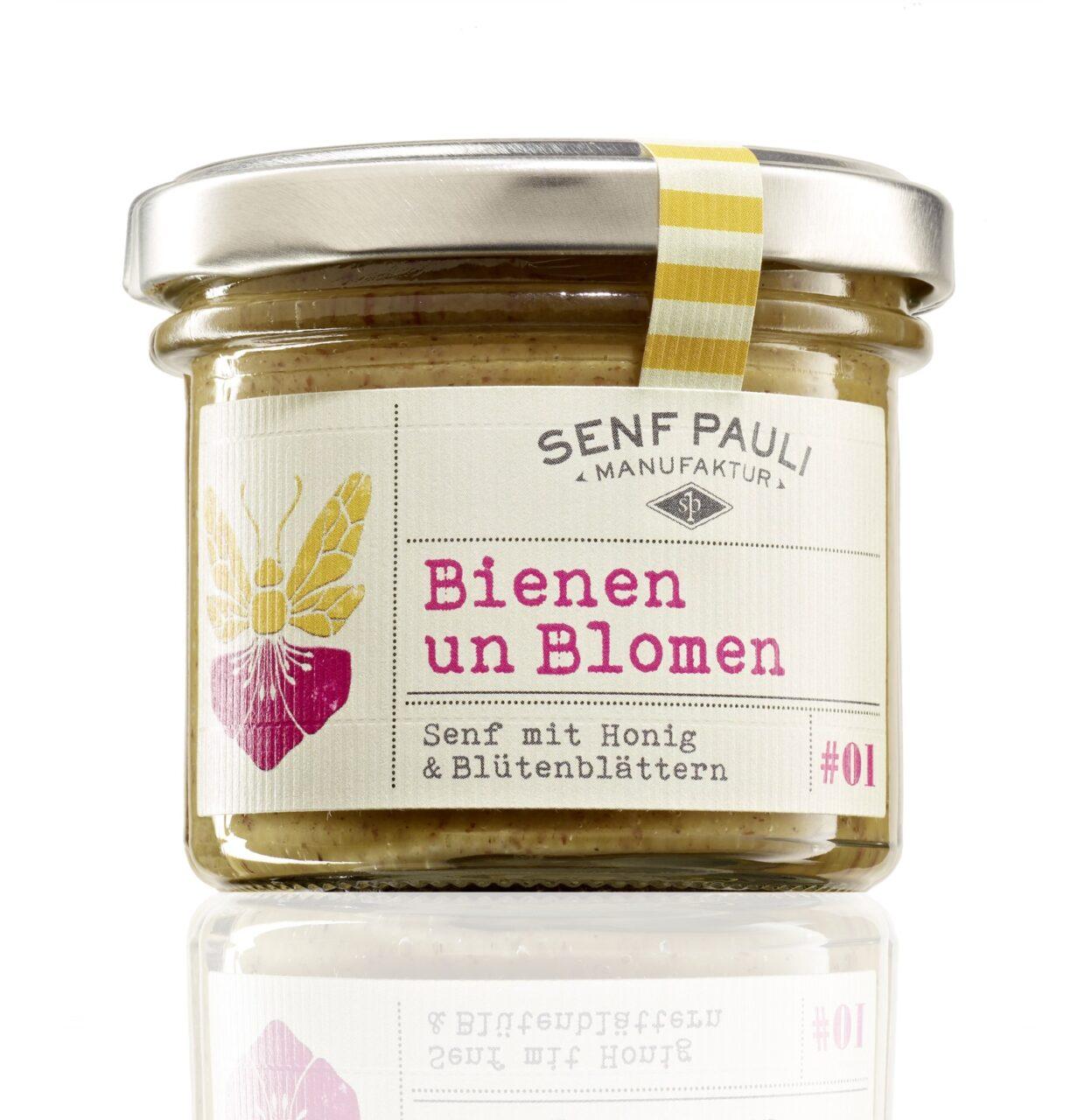 Senf Pauli, Manufaktur, Hamburg, selbstgemacht, Senf, Bienen und Blomen, Honig