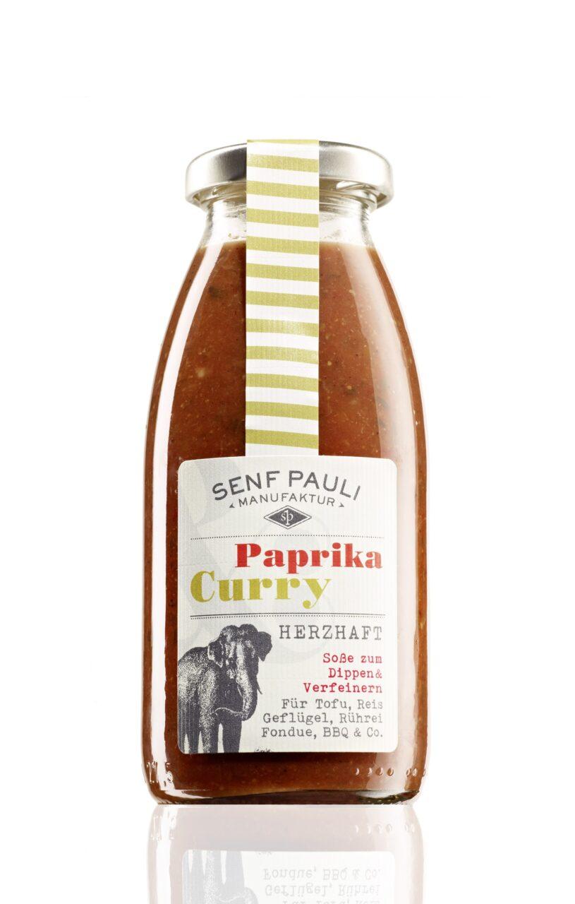 Senf Pauli, Manufaktur, Hamburg, selbstgemacht, Paprika Curry, Soße