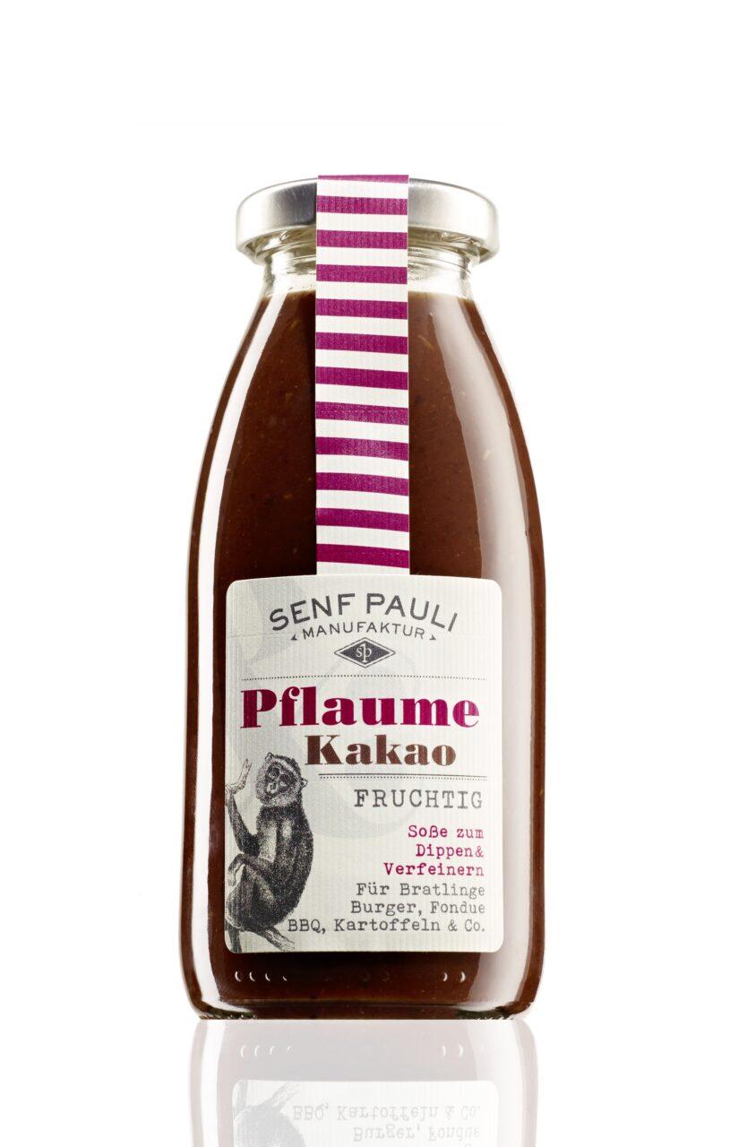 Senf Pauli, Manufaktur, Hamburg, selbstgemacht, Soße, Pflaume Kakao